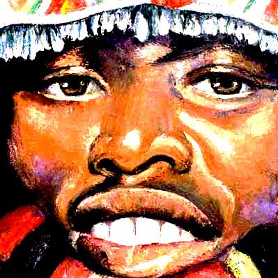 zulu-warrior-painting